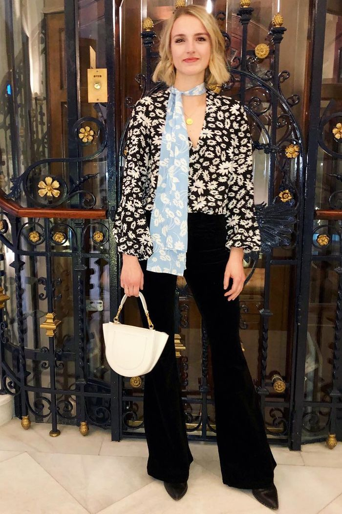 What to wear to dinner: Joy Montgomery
