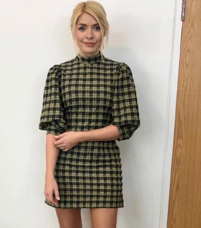 This Ganni Check Dress Is A 2019 Success Story Who What Wear