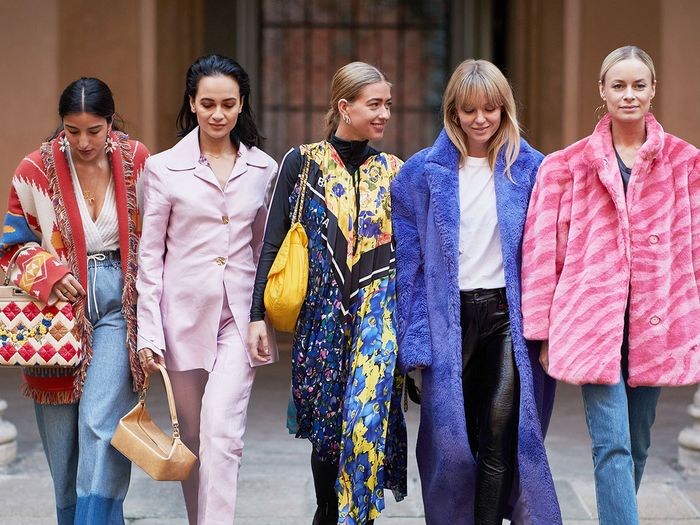 What color trends to wear in 2019
