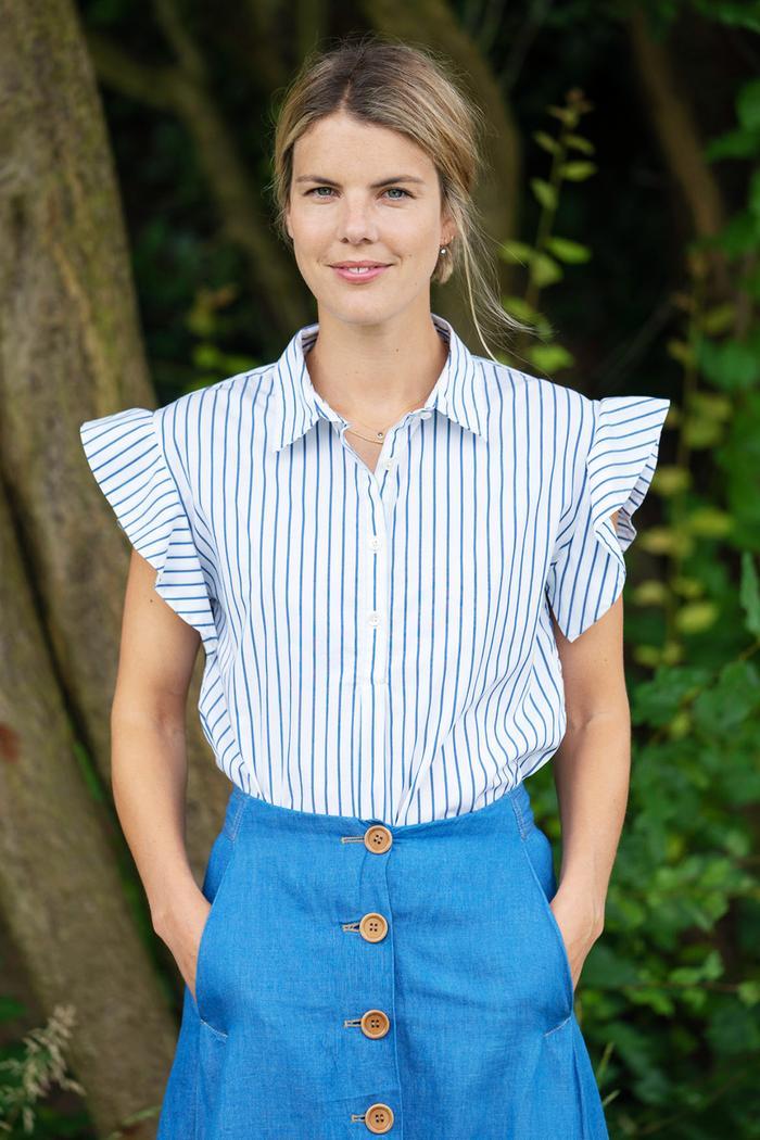 Ginnie Chadwyck-Healey workwear style-tips