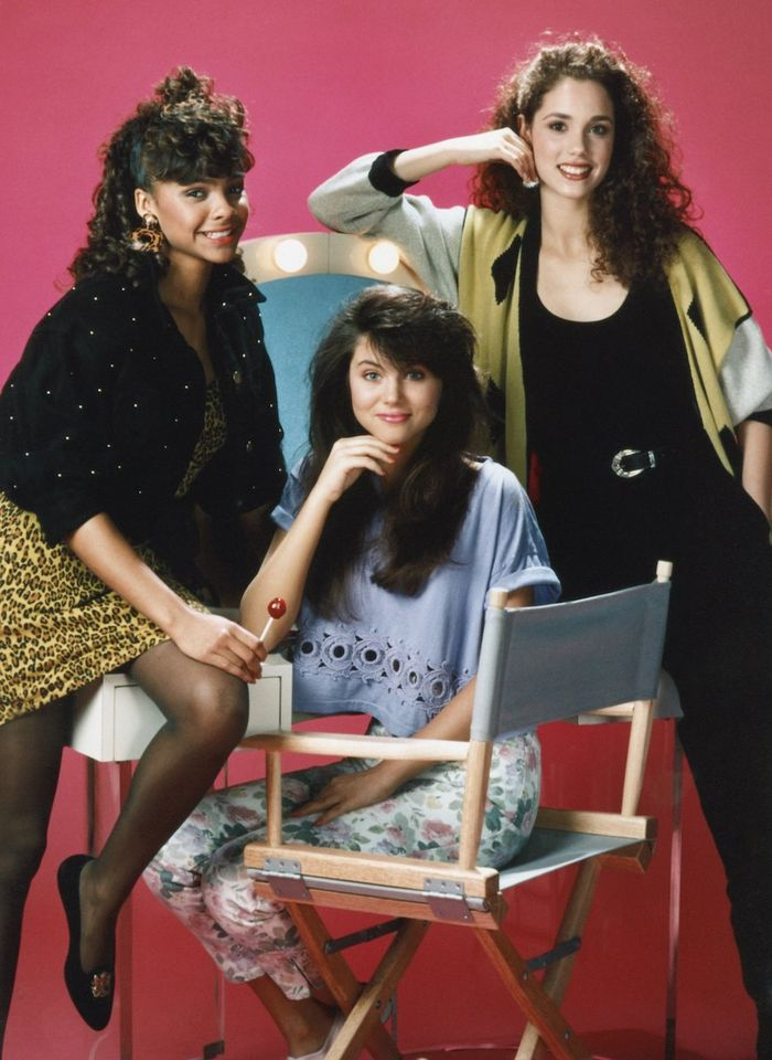 '90s TV Shows Beauty Icons: Saved by the Bell cast