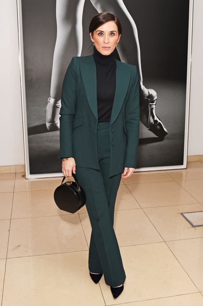 Vicky McClure style: Green suit
