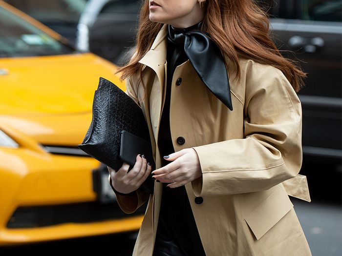 NY Girl Basics Trench Coat