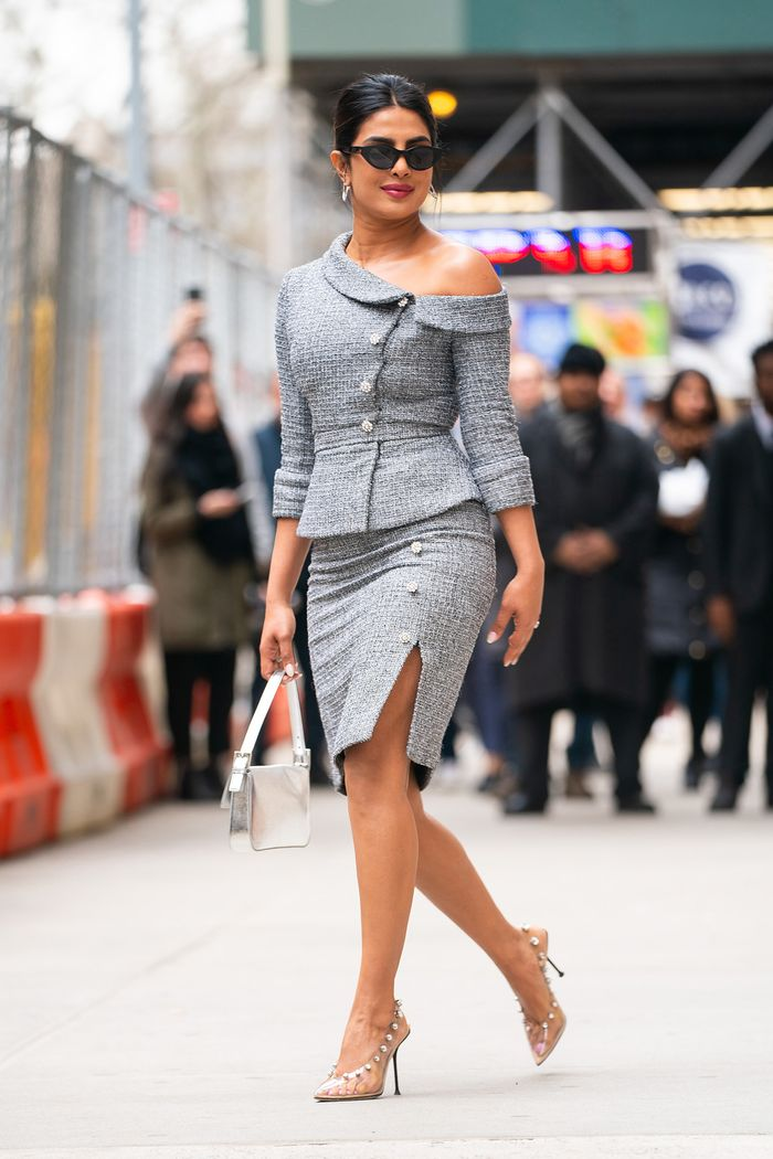 Priyanka Chopra skirt suit
