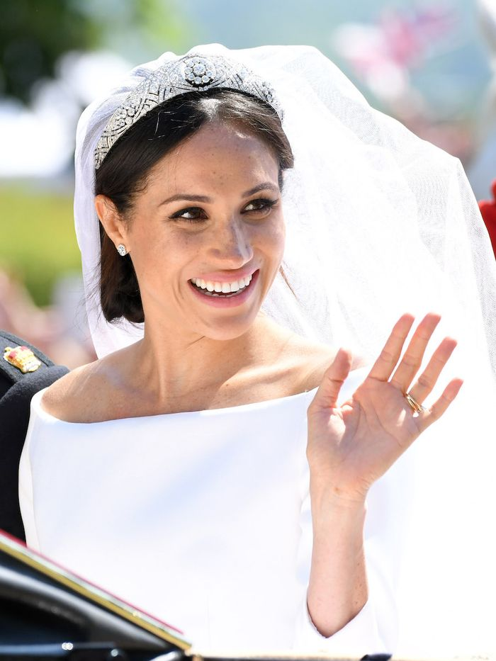 Meghan Markle Wedding Makeup: Meghan Markle on wedding day