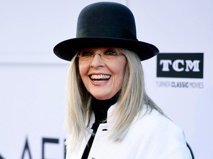 Diane Keaton's Favorite Denim Trend