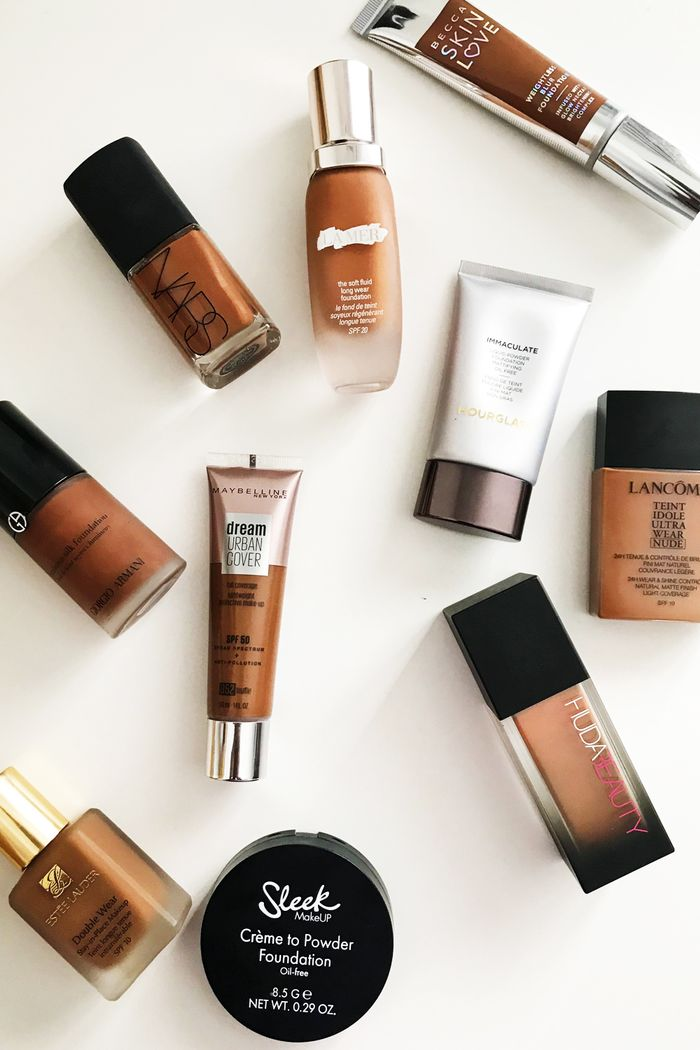 These Are The 17 Best Foundations For Dark Skin Who What Wear