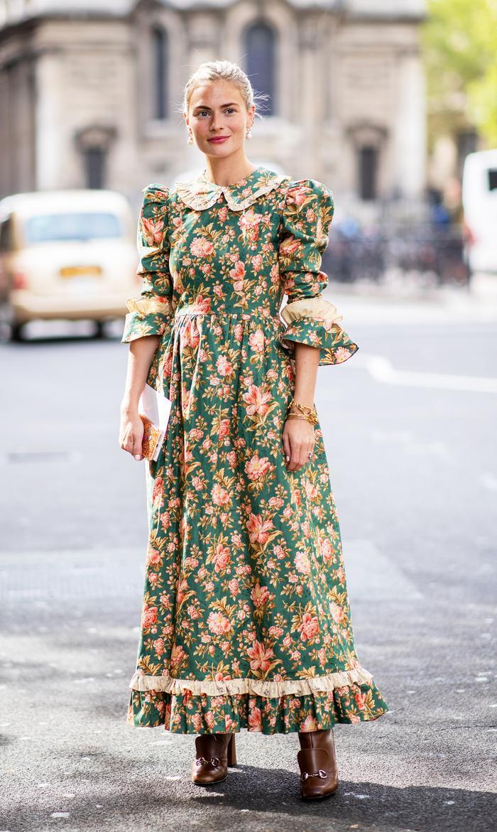 Most popular dress trends: Prairie dress