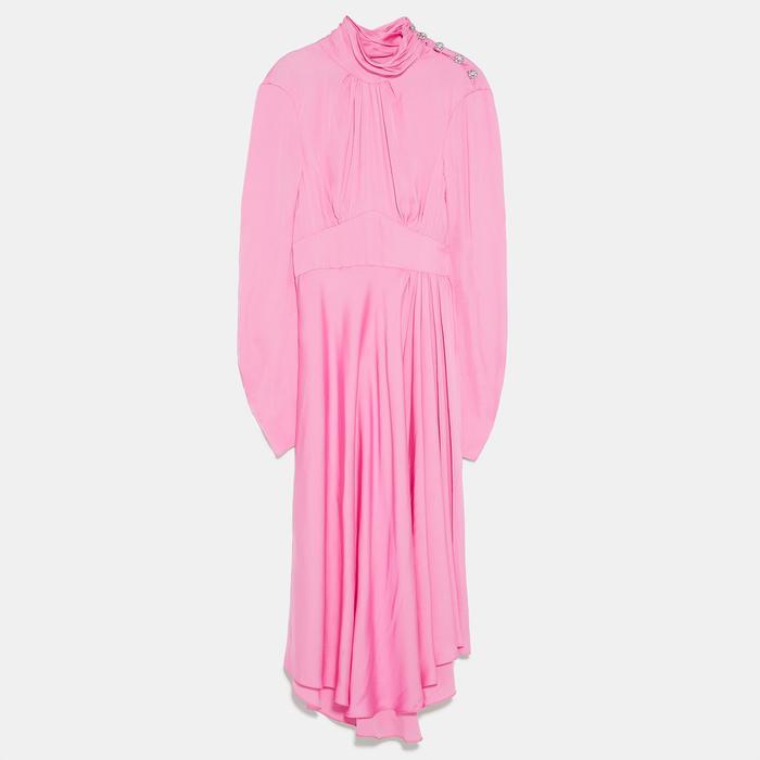 Wedding Guest Dresses Other Stories Zara Topshop S Best Who What Wear,Beach Wedding Wedding Dresses Simple