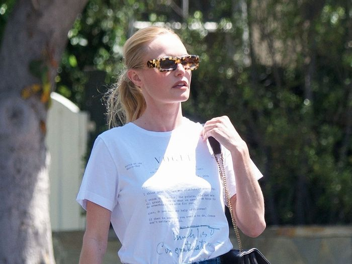 """Kate Bosworth Found the Prettiest """"Ugly"""" Sandals to Wear With Jeans and a Tee"""