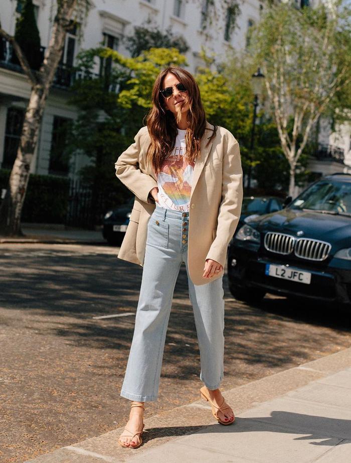 Boring Fashion Trends: @loveclothblog in a linen  blazer