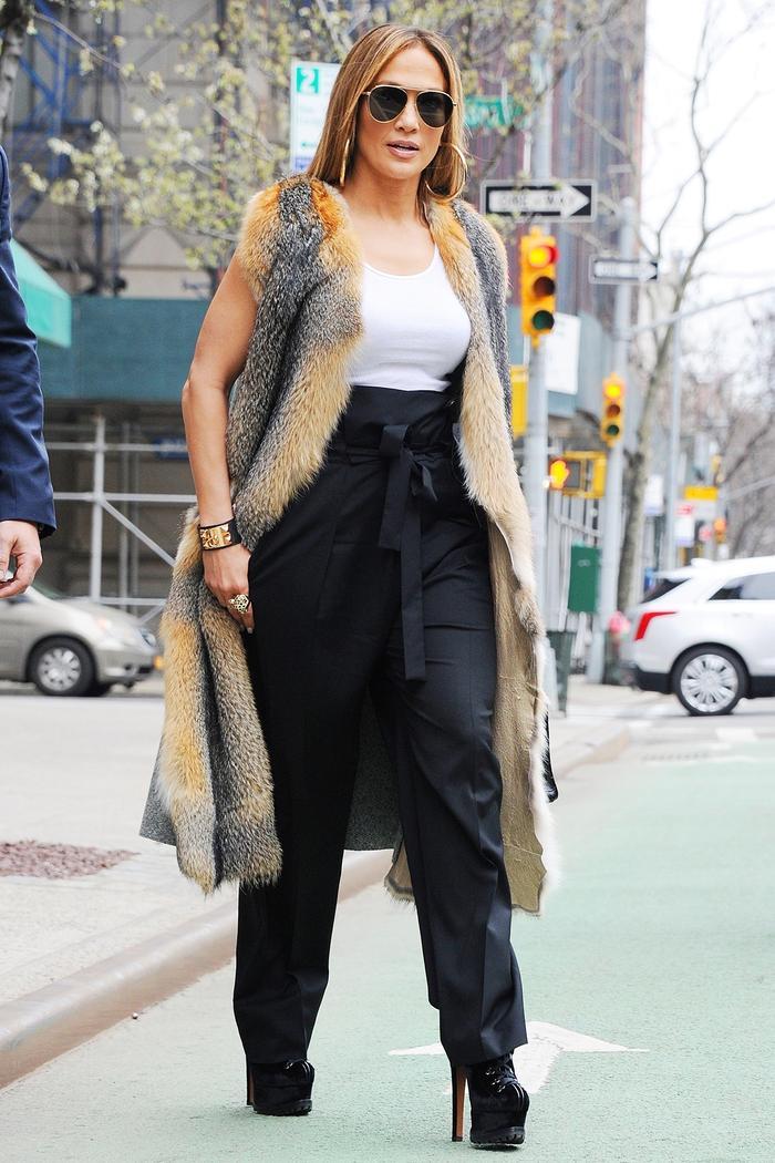 Jennifer Lopez platform shoes