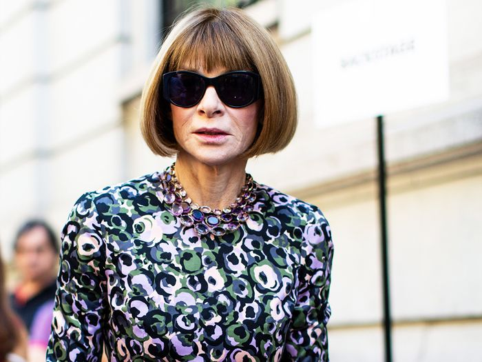 What Anna Wintour says not to wear