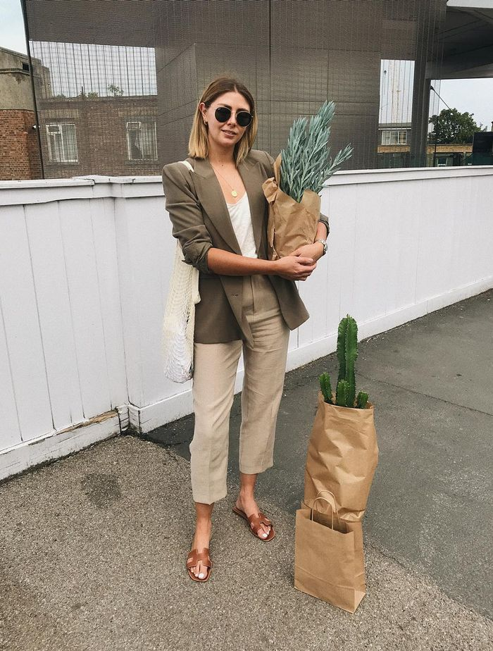 London Zara Shopping Picks: Emma Hill wears a Zara blazer.