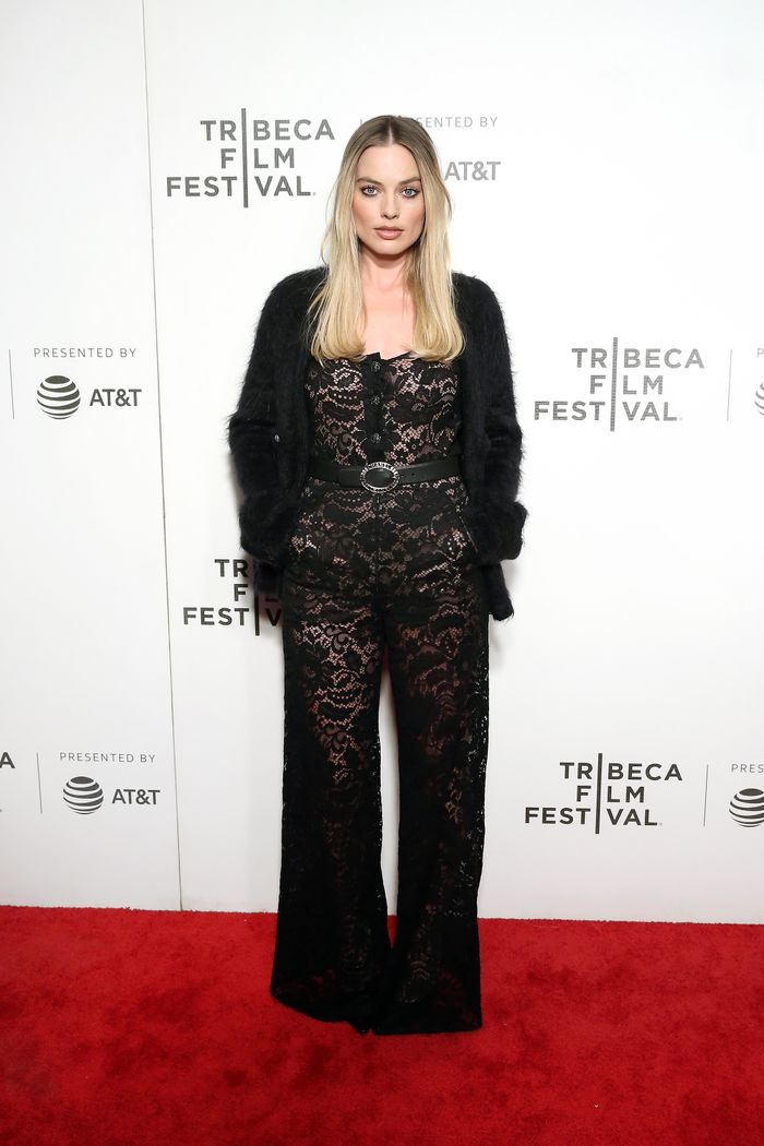 "Actress and producer Margot Robbie attends the ""Dreamland"" screening during the 2019 Tribeca Film Festival at BMCC Tribeca PAC on April 28, 2019 in New York City"