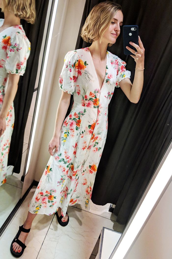 Best Zara items 2019: floral midi dress