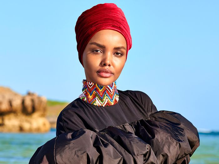 Halima Aden Wearing a Burkini in Sports Illustrated Swimsuit Issue