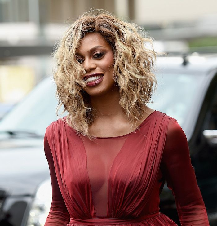 Blonde Hair Colors: Laverne Cox