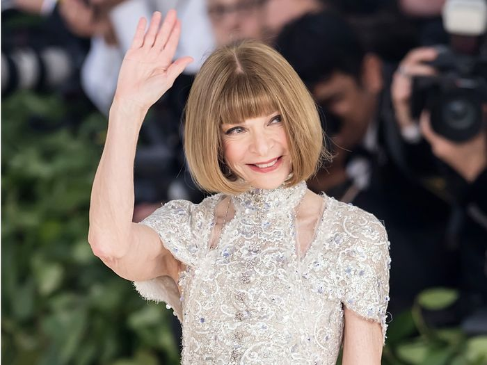 Anna Wintour Predicts the #1 Met Gala Red Carpet Trend for 2019