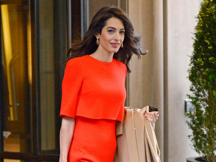 Amal Clooney style staples