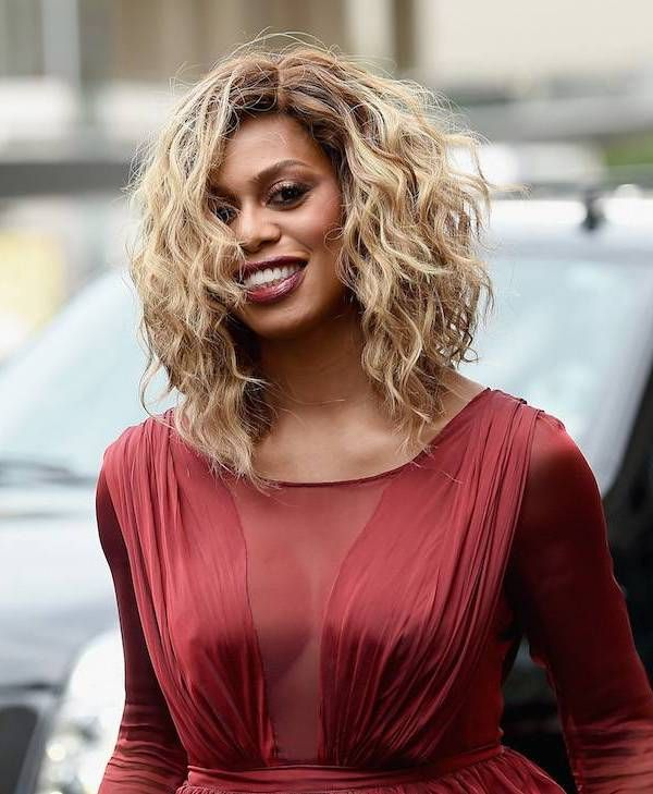 Blonde Hair Colours for Every Skin Tone: Laverne Cox