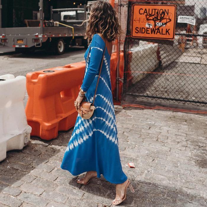 Zara Tie-Dye Dress @collagevintage