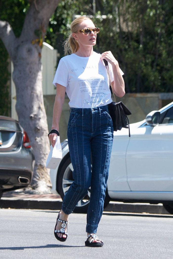 Kate Bosworth Tee and Jeans