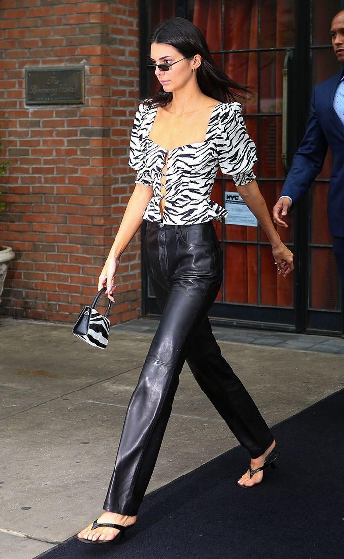 Kendall Jenner Reformation top