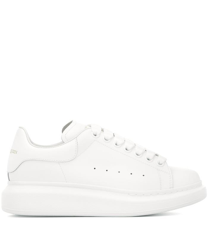 Wearing Alexander McQueen Sneakers