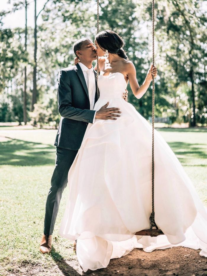 14 Drop Waist Wedding Dresses That Are So Stunning Who What Wear