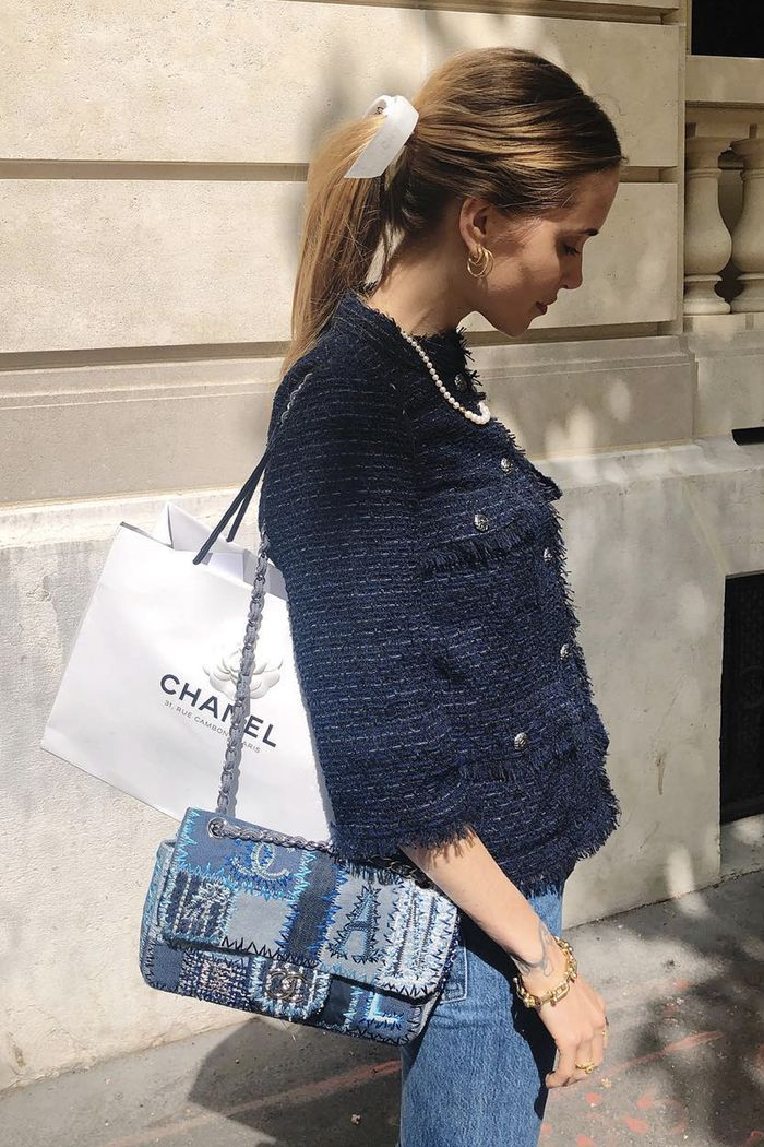 Trending fabrics 2019: Pernille in tweed
