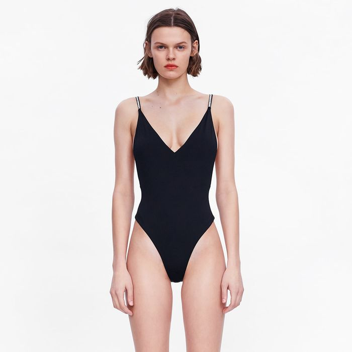 Zara Swimsuit With Jewelry Straps