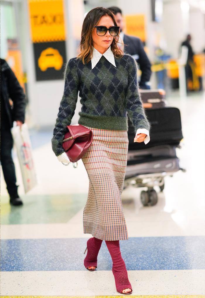 Victoria Beckham peep toe boots: