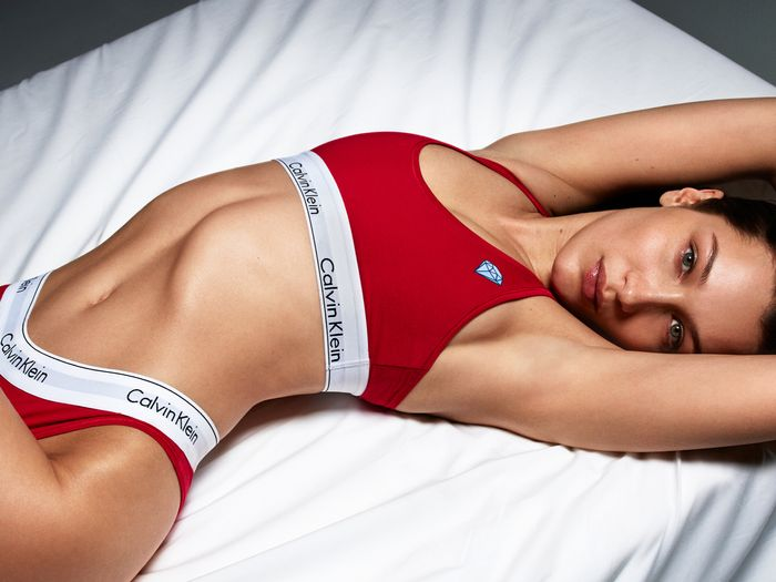 Bella Hadid, Kendall Jenner, and more star in the newest Calvin Klein Underwear campaign