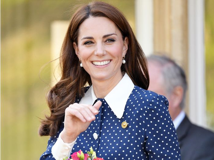 Kate Middleton Wearing a Dress From Meghan Markle's Wedding