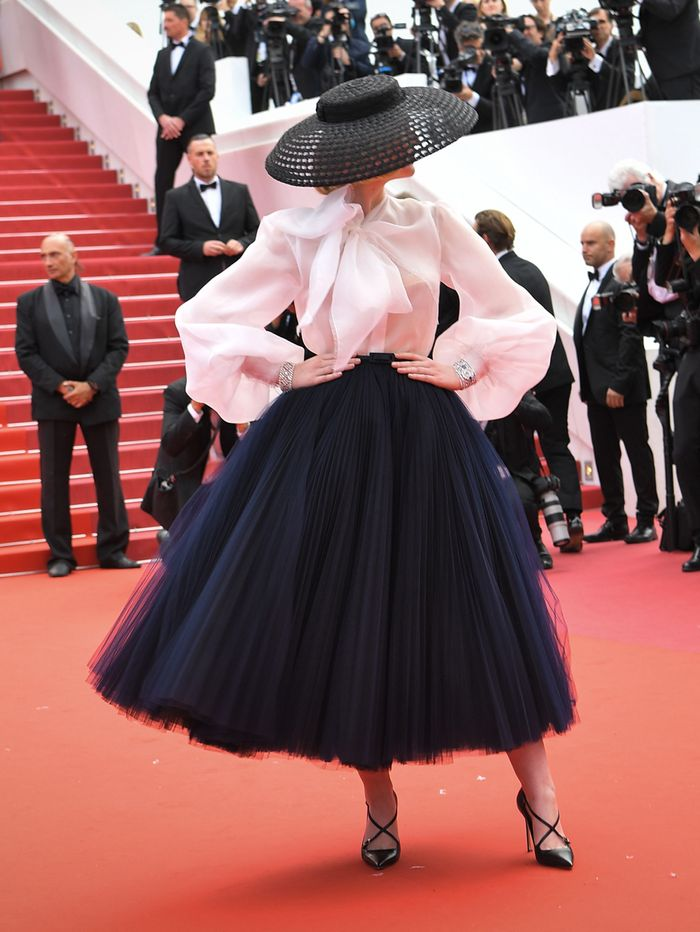 Cannes Film Festival 2019 red carpet best dressed: Elle Fanning in Dior hat and tulle skirt