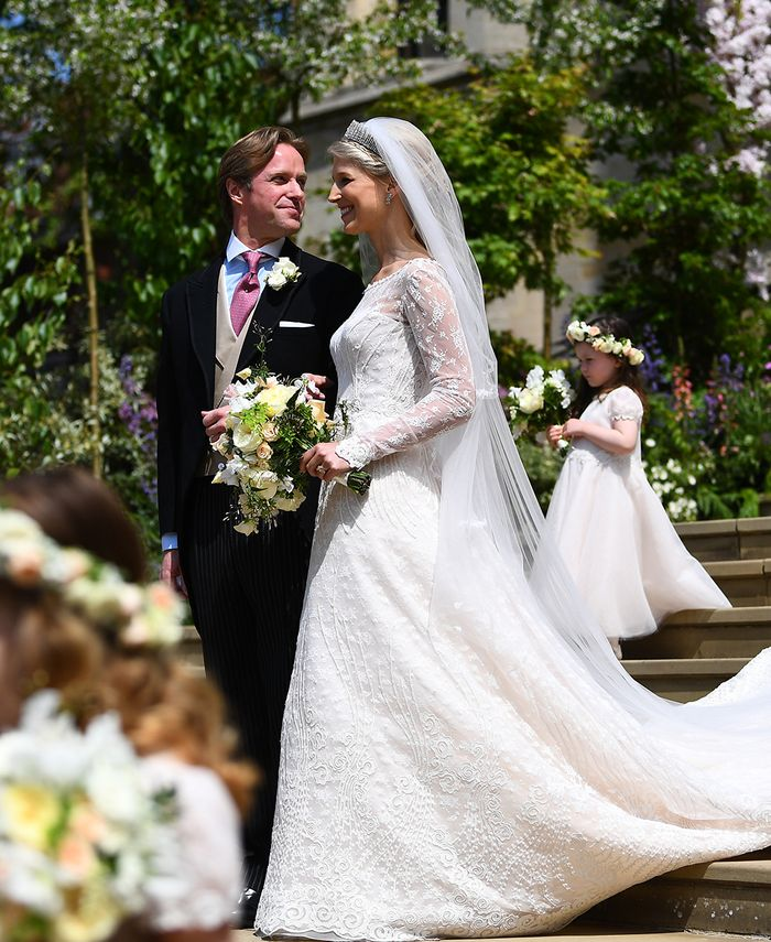 Lady Gabriella Windsor wedding guests outfits