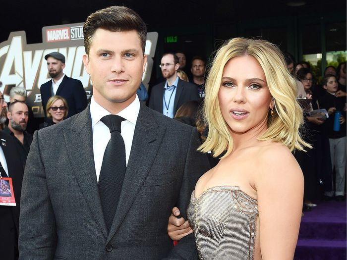 Scarlett Johansson Reveals Her Engagement Ring