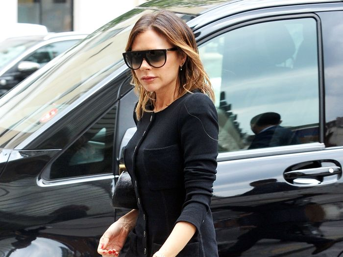 Victoria Beckham Took Anna Wintour's Advice on What Shoes to Wear With Black