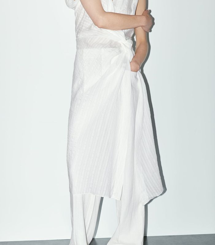 Zara timeless collection: white tunic