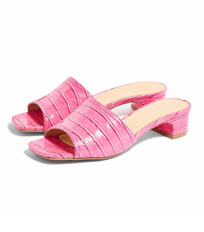 Topshop Diva Pink Mules