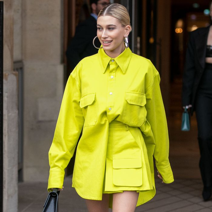 Hailey Bieber, Jennifer Lopez, and Amal Clooney Zara style