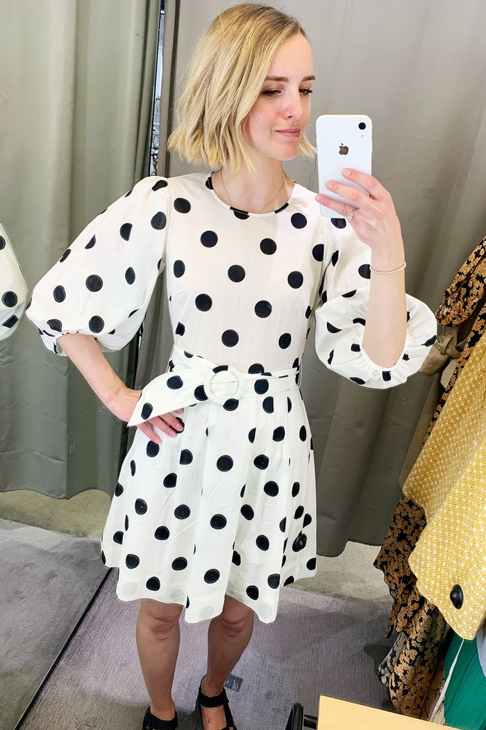 Best summer mini midi maxi dresses: Joy in polka dot stories dress