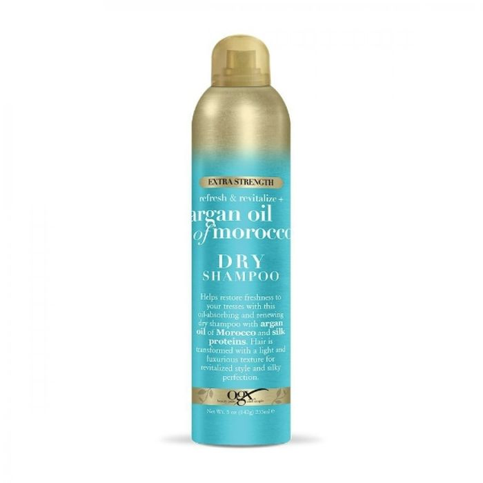 What Causes Hair Damage: OGX Extra Strength Refresh & Revitalize + Argan Oil Of Morocco Dry Shampoo