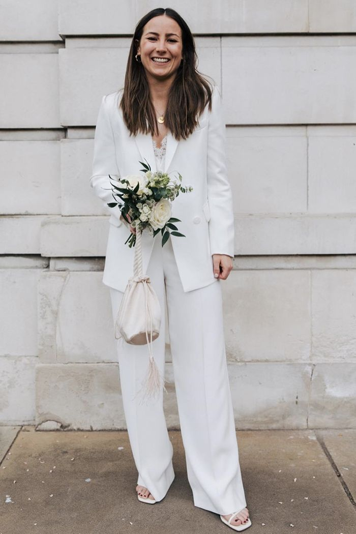 Best wedding shoes 2019: Emily Dawes in Zara heels