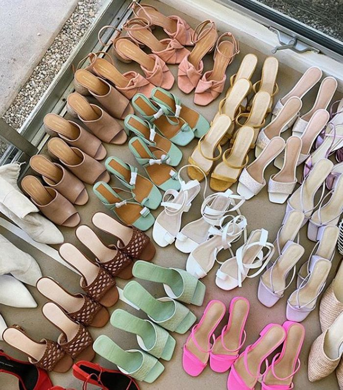 Best designer sandals 2019: lots of sandals