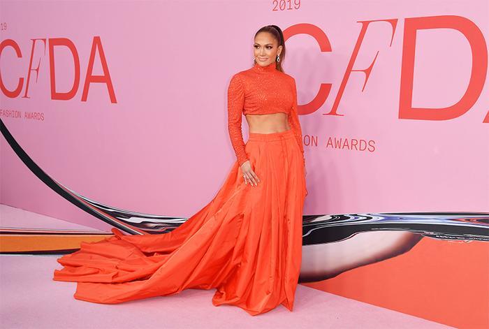 Jennifer Lopez CFDA Awards 2019 Red Carpet
