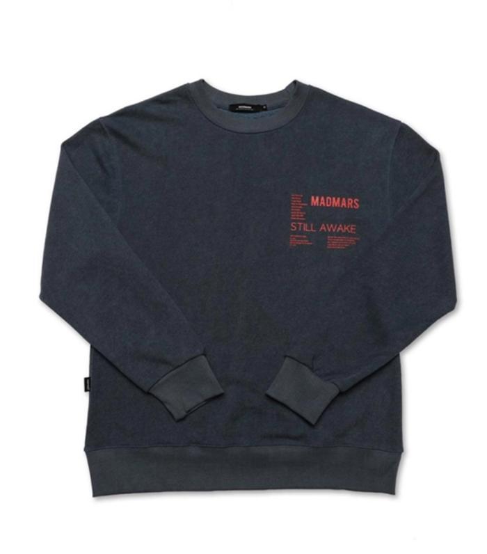 Madmars Pigment Text Sweatshirt