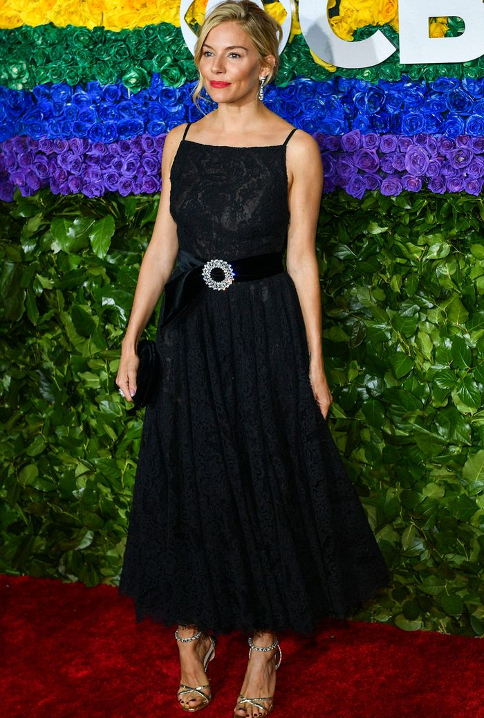 Tony Awards 2019 red carpet Sienna Miller