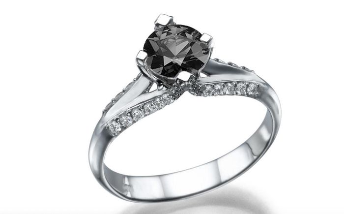 25 stunning black diamond engagement rings who what wear black diamond engagement rings